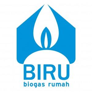 logo biru