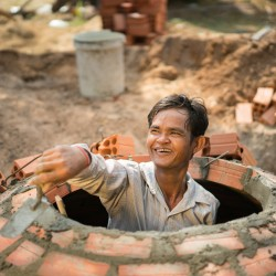 We celebrate 25,000 biodigesters built in Cambodia